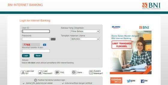 Bni Internet Banking Versi Desktop 14b41