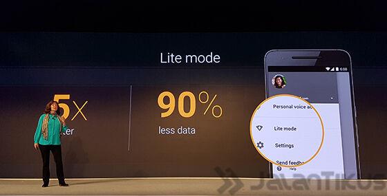 Fitur Lite Mode Untuk Koneksi Yang Lambat