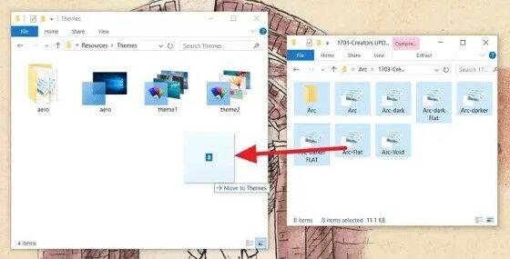 Cara Install Theme Windows 10 Terbaik Masukkan File 14491
