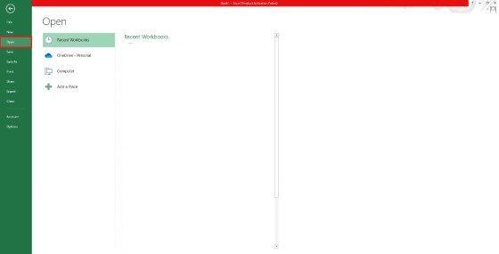 Memperbaiki File Excel Corrupt 4402e