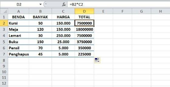 100 Rumus Excel Lengkap Yang Sering Digunakan Dan Fungsinya Jalantikus