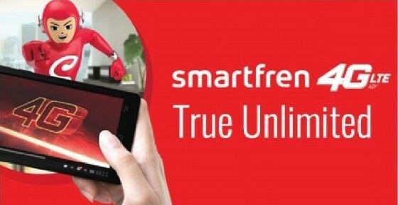 Fup Smartfren Paket Unlimited Super 4g 40035