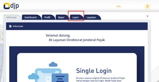 Cara Lapor Spt Online 2020 9b553