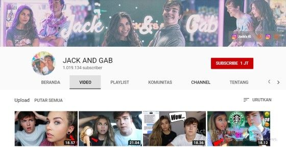 Youtuber Couple Jack And Gab 622d8
