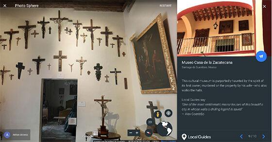 Museum Casa De La Zacatanaca Tempat Berhantu Google Earth