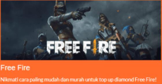 Top Up Free Fire Pulsa Telkomsel Murah 47566