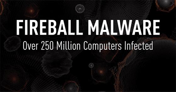 Ancaman Fireball Malware