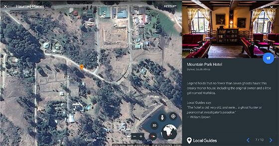 Mountain Park Hotel Tempat Berhantu Google Earth