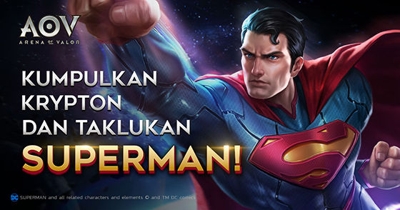 Event Cara Dapat Superman Arena Of Valor