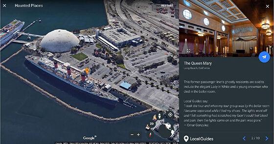 The Queen Mary Tempat Berhantu Google Earth 769ab
