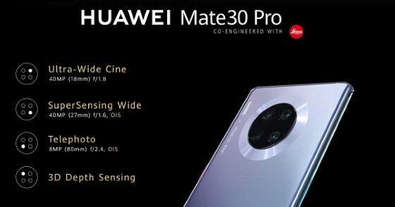 Huawei Mate 30 Pro, Punya Keunggulan Lebih dari iPhone!