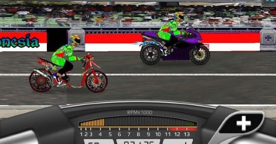 Download Drag Racing Bike Mod Apk Versi Indonesia 1130e