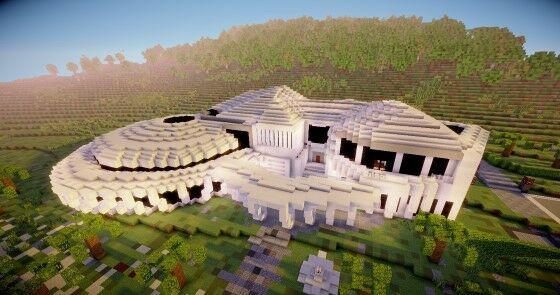 Desain Rumah Minecraft Terbaik 4 88bb1