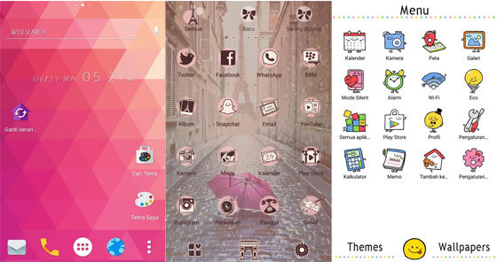Aplikasi Tema Hp Android Home Launcher Fd438
