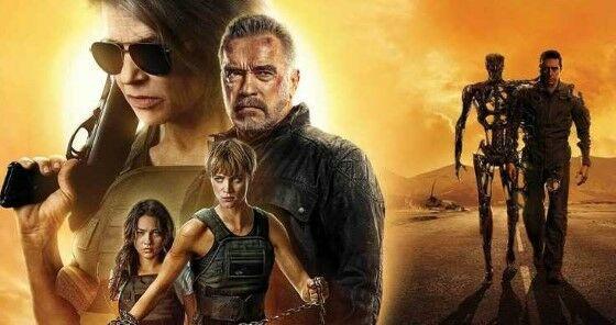Film Sekuel Terminator Dark Fate 2019 Custom C026c