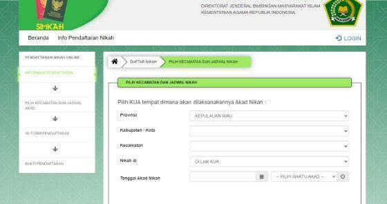 Cara Mendaftar Nikah Online 1a127