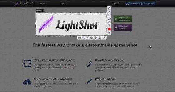 Aplikasi Screenshot Pc Lightshot 9a86f