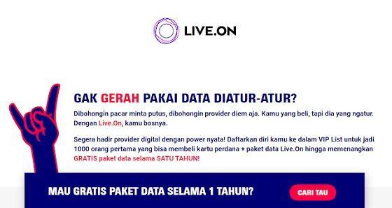 Paket Internet Live On Xl 12 538db
