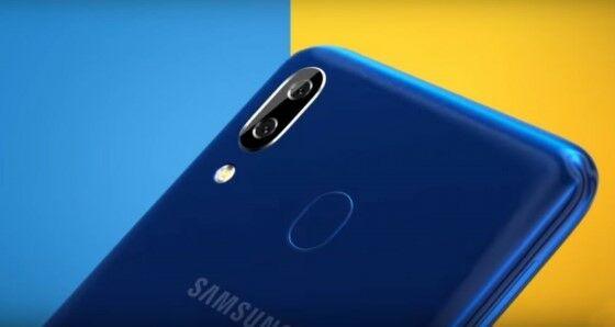Kamera Samsung Galaxy A20 9ca56