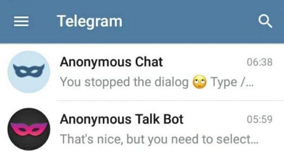 Cara Menggunakan Anonymous Chat Telegram 3 97844