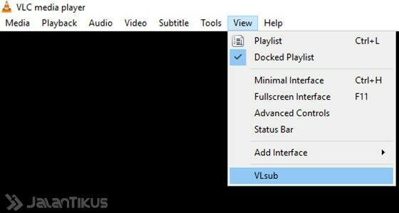cara download subtitle di vlc 3