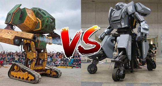 Megabots Giant Robot Duel 01
