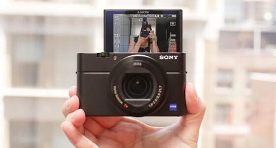 Sony Cybershot Rx 100 Iv Kamera Youtuber
