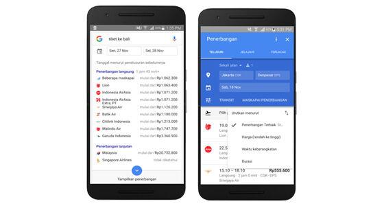 Google App Rencanakan Liburan Makin Mudah 3