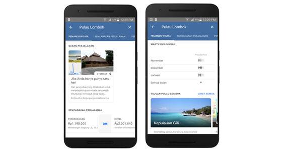 Google App Rencanakan Liburan Makin Mudah 6