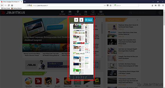 Cara Screenshot Panjang Di Komputer Tanpa Aplikasi Tambahan 4