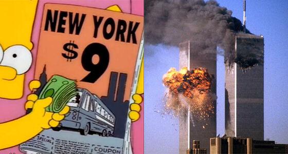 9 11 Prediksi The Simpsons