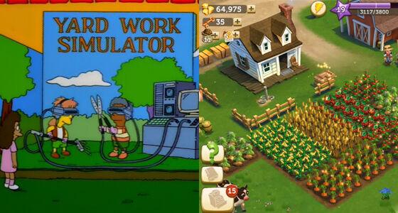 Farmville Prediksi The Simpsons
