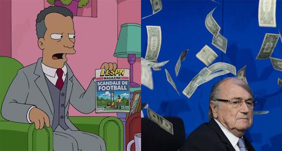 Fifa Prediksi The Simpsons