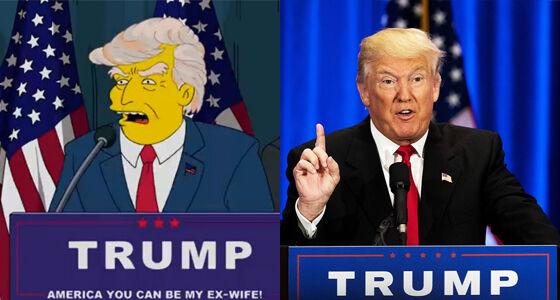 Trump Prediksi The Simpsons