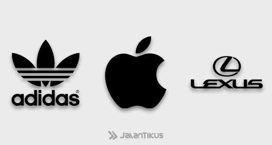 Fakta Warna Logo Populer Hitam