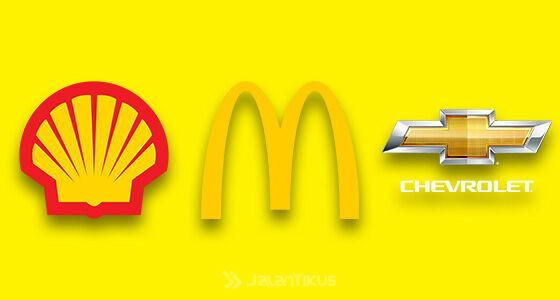 Fakta Warna Logo Populer Kuning