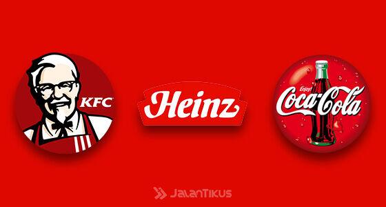 Fakta Warna Logo Populer Merah