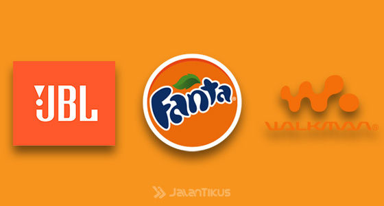 Fakta Warna Logo Populer Orange