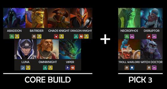 Build Dota Underlords Terbaik Patch Oktober 3 08511