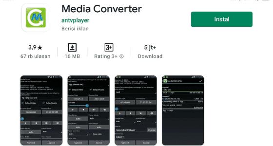 Cara Mengubah Video Menjadi Mp3 Dengan Aplikasi 7d83e