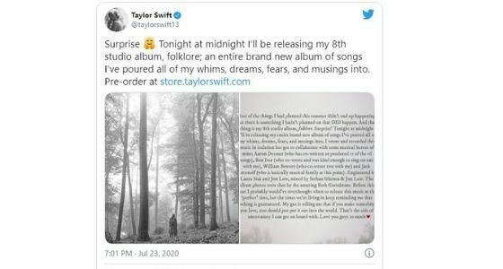 Ekspresi Taylor Swift Di Twitter Cca74