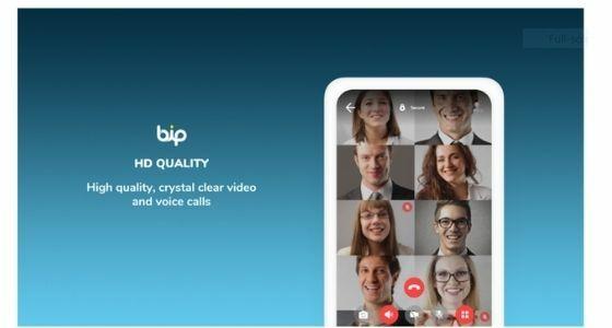 BiP Messenger App Turki Ff3d9