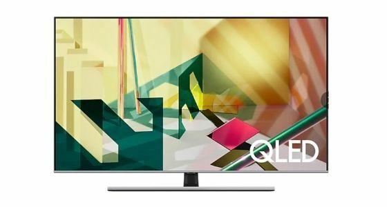 TV LED Samsung 55 Q70T QLED Smart 4K TV 2020 E5c78