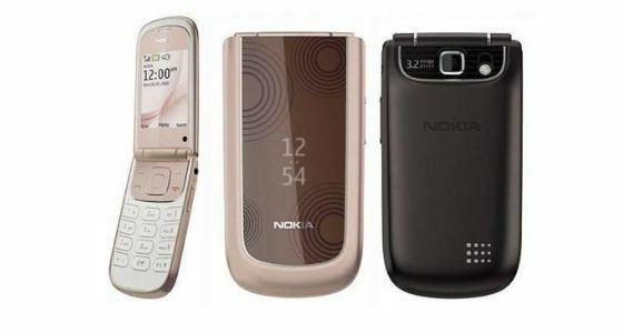 Hp Nokia Lipat 3710 Fold 383d2