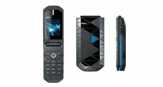 Hp Nokia Lipat Nokia 7070 Prism 2424a
