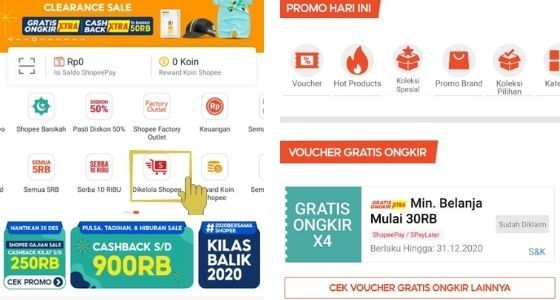 Voucher Gratis Ongkir Shopee Dari Produk Dikelola Shopee 8a922