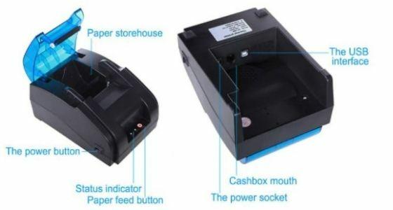 Printer Bluetooth Mini Panda PRJ 58D E2775