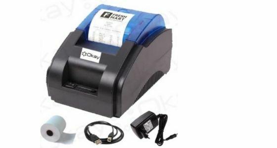 Printer Bluetooth Thermal OKAY 58D Mini Ce330