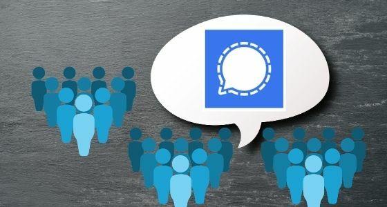 Aplikasi Signal Messenger 91918