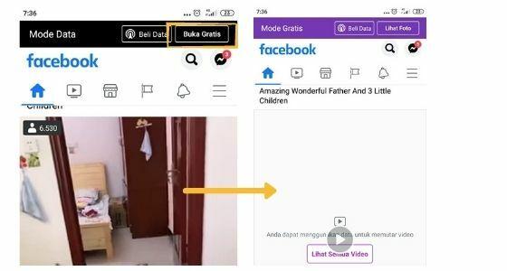 Cara Mengubah Facebook Ke Mode Gratis 7dd56